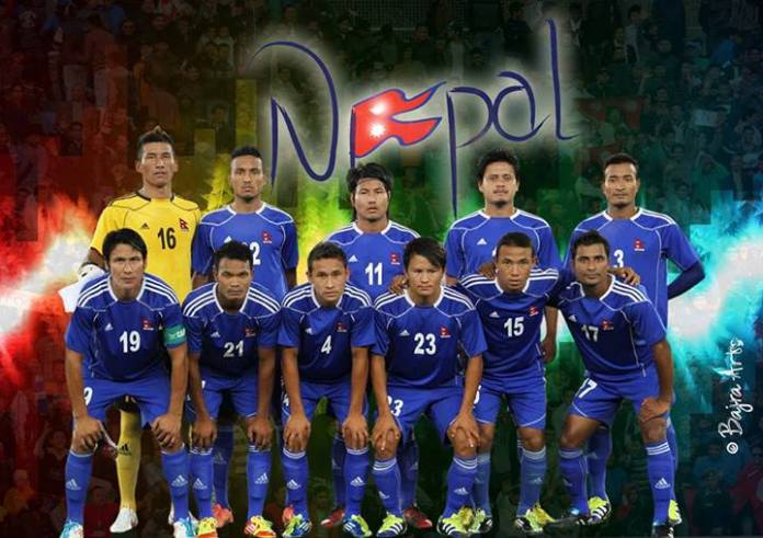 Team Nepal for Saff 2013