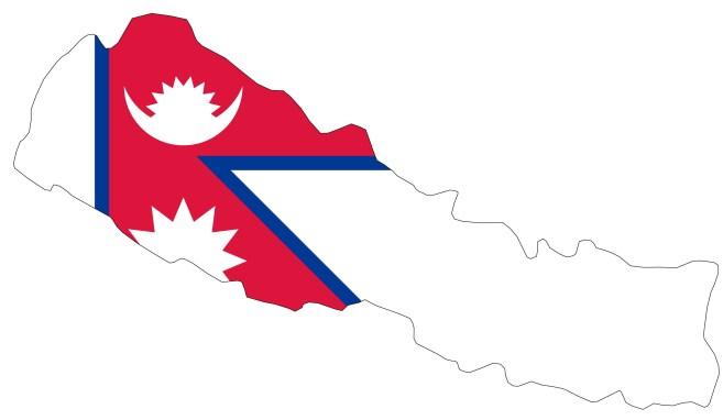nepal pays drapeau