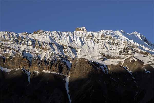 Nilgiri Himal. Photo by Sarju Rijal