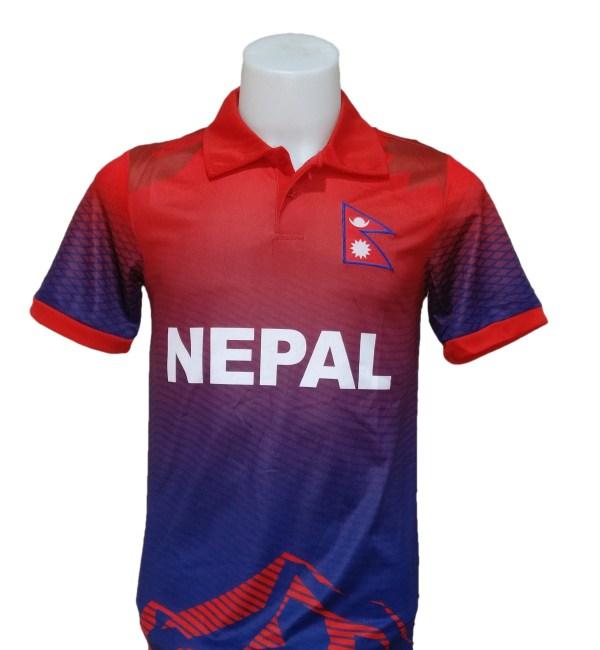 Nepal Cricket Jersey