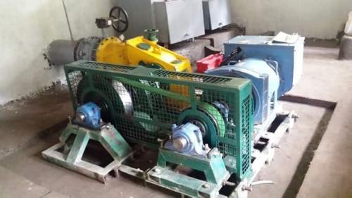 Micro hydro turbine installation