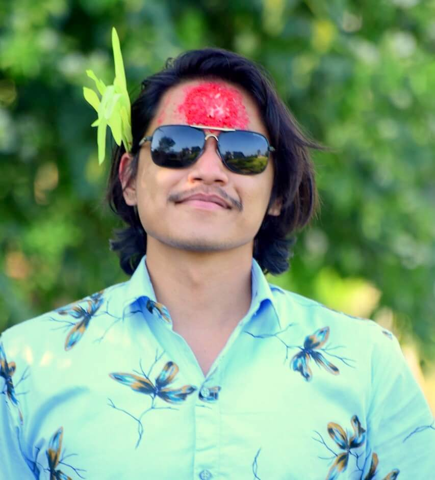 Author Nirdesh Baral _ Nepal Health Magazine Founder
