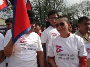 Ani Choying Dolma at Nepal Unites Event