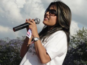 Brinda Singh (Bryan Adams Conert Girl) at Nepal Unites Event