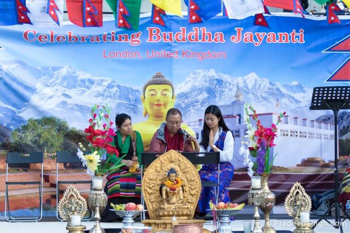Buddha Jayanti Trafalgar Square London-7945