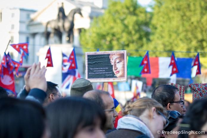 Buddha Jayanti Trafalgar Square London-7996