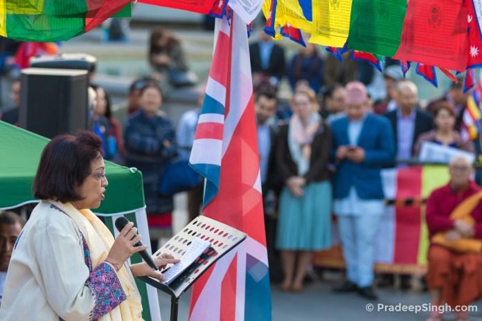 Buddha Jayanti Trafalgar Square London-8416