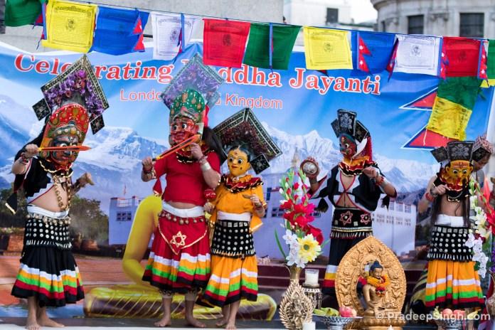 Buddha Jayanti Trafalgar Square London-8532