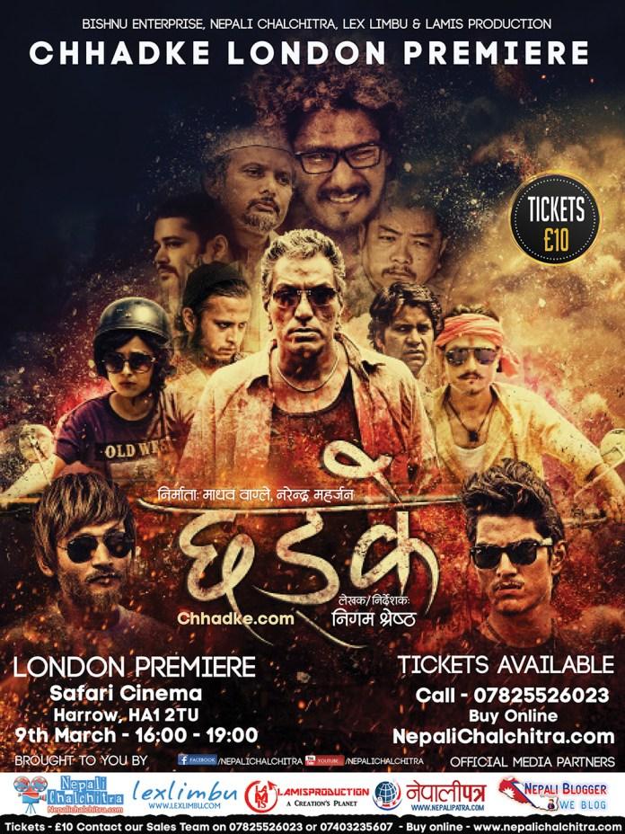 Chhadke Nepali Movie in London, UK