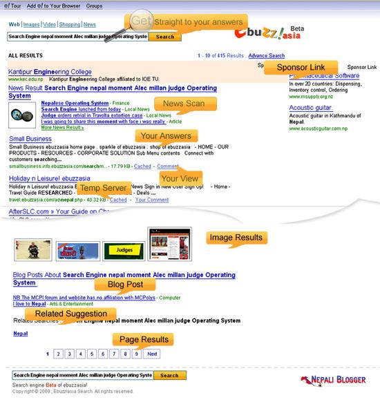 Nepali Search Engine ebuzzasia Coming Soon! • Nepali Blogger