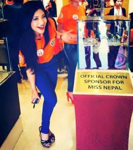 Evana Manandhar Miss Nepal 2015 4