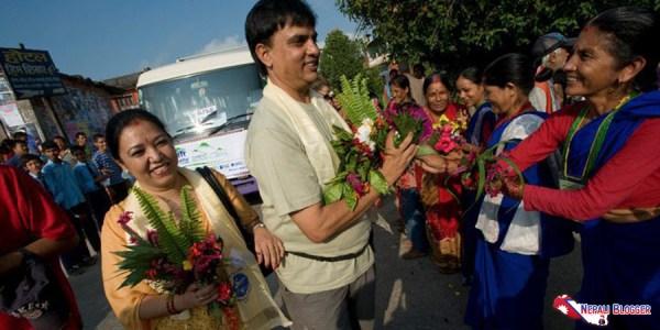 Hari Bansha Acharya Meera Acharya Nepali Blogger