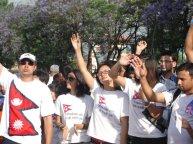 Miss Nepal Jenish Moktan at Nepal Unites Event