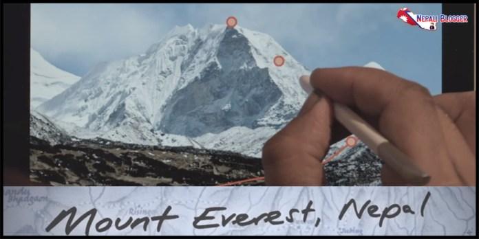 Mt Everest Nepal Featured in Samsung Galaxy
