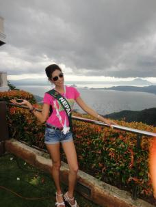 Nagma Shrestha in Miss Earth 2012 1