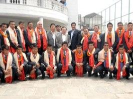 Nepal National Football Team for Jordan