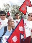 Nepali Singers at Nepal Unites Khulamanch Event