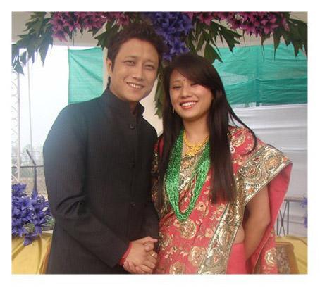 Prashant Tamang Marriage with Geeta