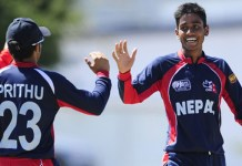 Prithu and Sompal Team Nepal World Cup Qualifiers
