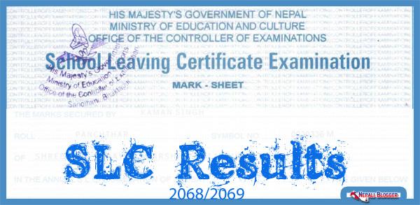 SLC Results 2069