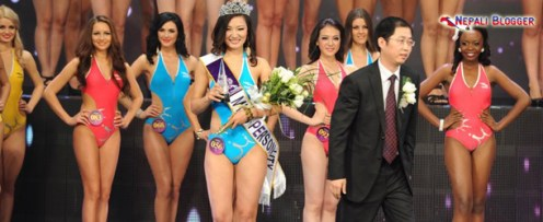Samriddhi Rai Miss Personality Award at Miss tourism Queen 2011