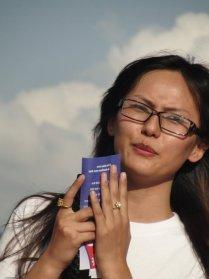Zenisha Moktan at Khula Manch Nepal Unites