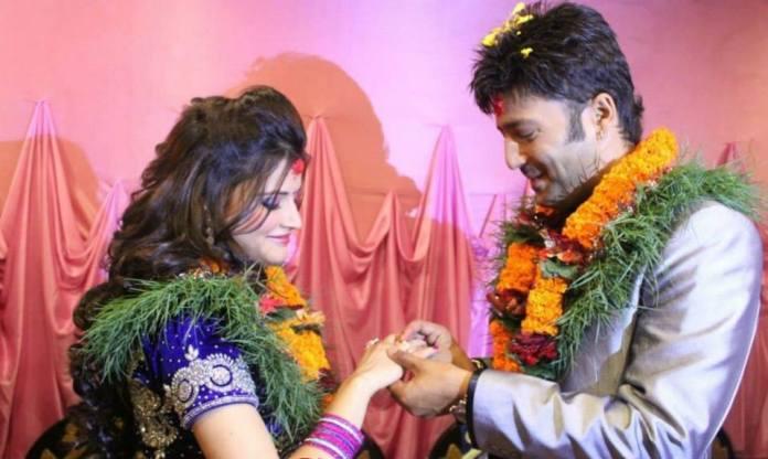 Aryan Sigdel Sapana Bhandari engagement 1