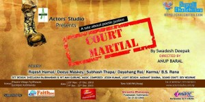 Court Martial theatre Play Artists