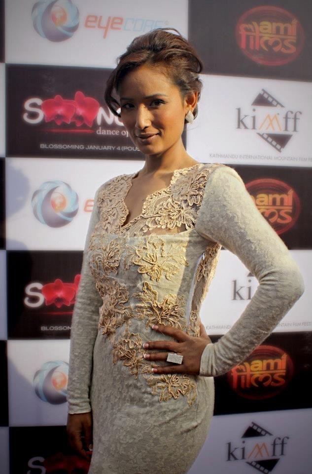 Diya Maskey at Sooonga Nepali Movie Premiere 1