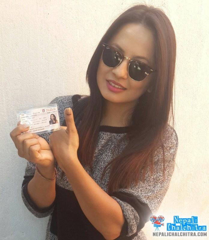 Malvika Subba Nepal vote