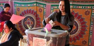Malvika Subba votes new