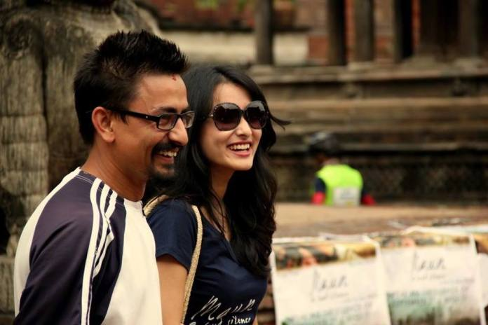 Namrata Shrestha Kathmandu Cycle City Rally 2
