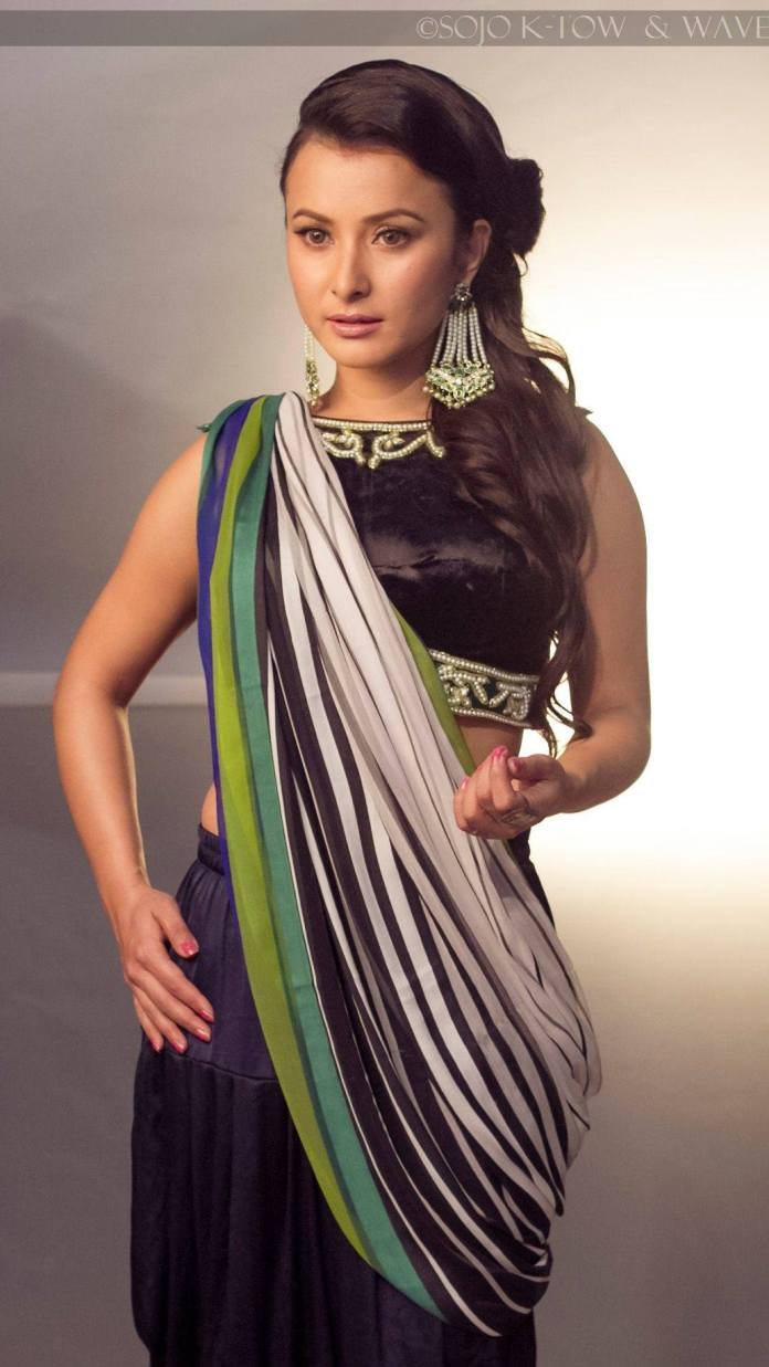 Namrata Shrestha Wave Magazine behind shoot 3
