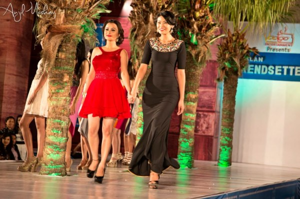 Namrata Shrestha and Bina Ghale at Trendsetters 2 Fashion Show