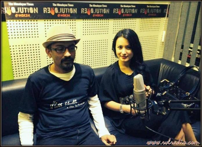 Namrata Shrestha and Director Suraj Bhusal Radio Interview