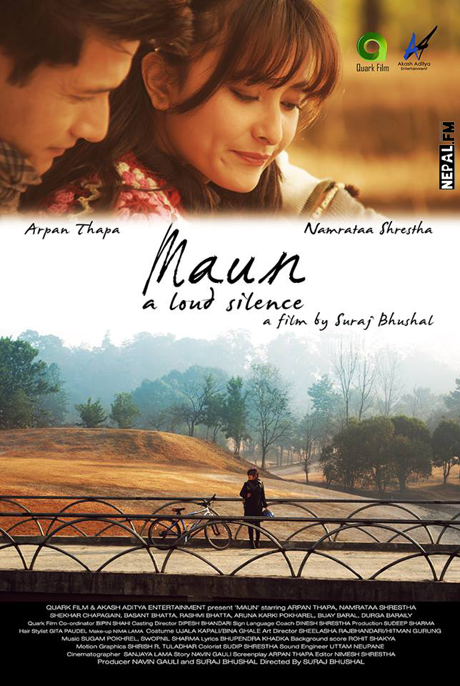 Official Poster Maun Movie