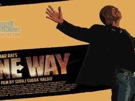 One Way Nepali Movie poster robin Tamang