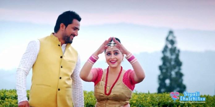 Radha-Nepali-Movie-Music-Video-Sanchita-Luitel-Jiwan-Luitel--Song