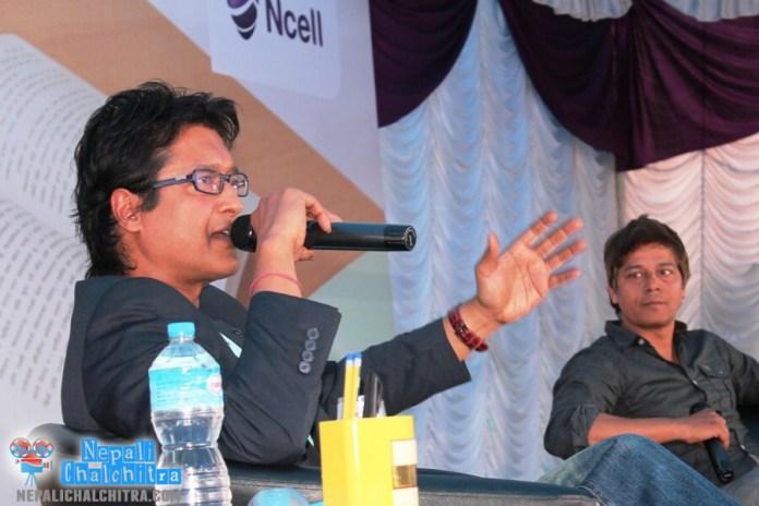 Rajesh Hamal and Anup Baral