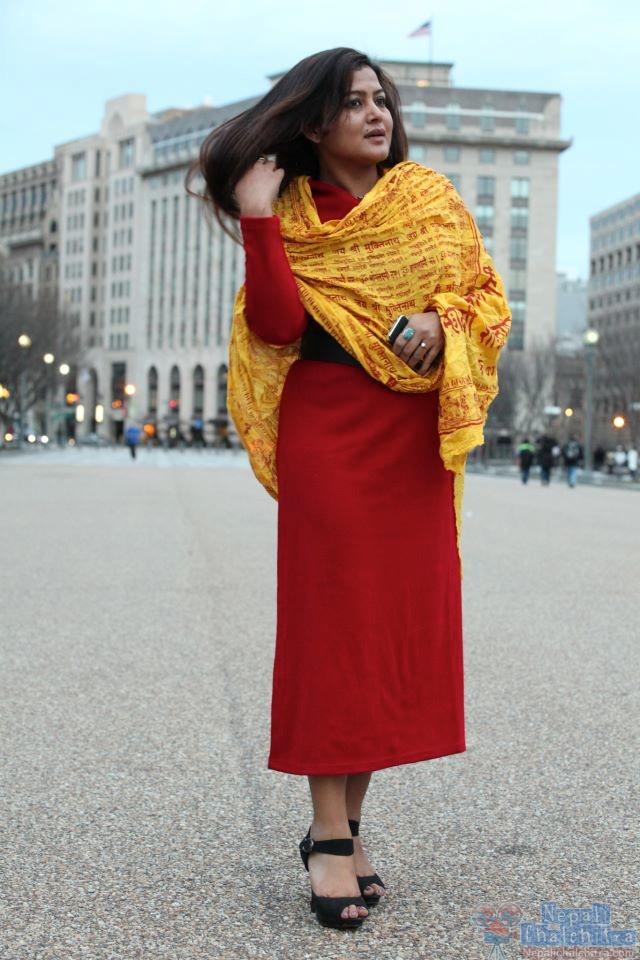Rekha Thapa in US Glamour Photo Shoot 1 8