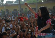Rekha Thapa in baal Matlab Lanka Nepali Movie