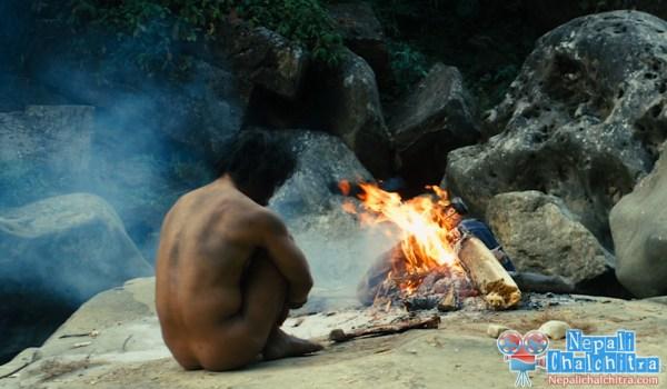 Saugat Malla in jungle Chhakde