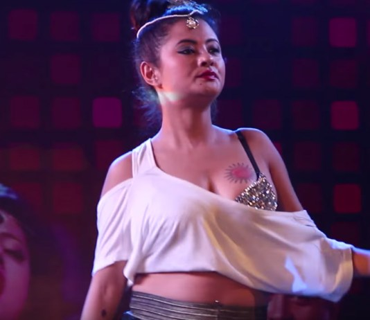Sushma Karki Udhreko Choli Loot Song Performance