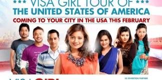 Visa Girl in USA Nepali Chalchitra