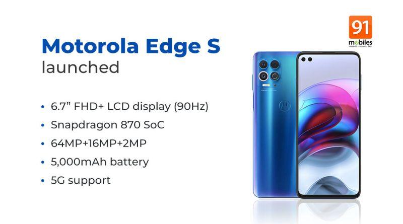 Motorola Edge S Price In Nepal & Full Phone Specifications 6