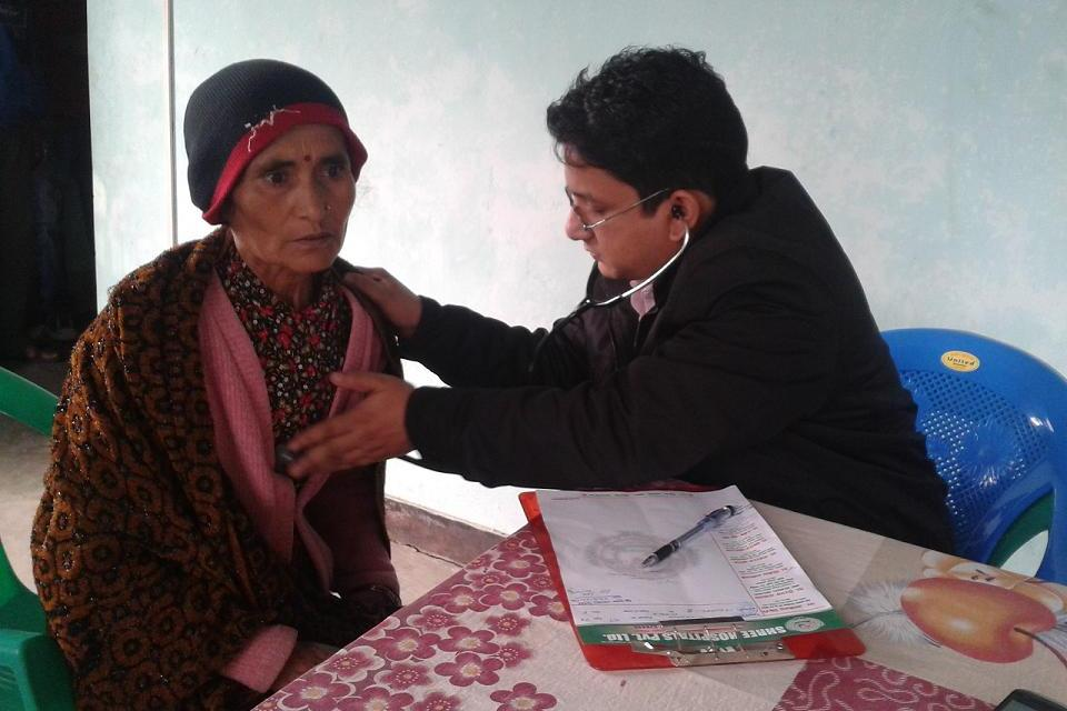 Health camp benefits more than 500 heart patients