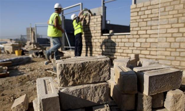 Freed Kamaiyas start building houses on abandoned airfield
