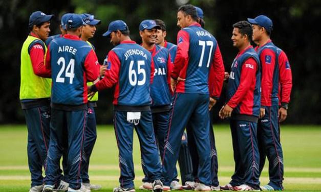 विश्व क्रिकेट लिगका लागि नेपाली टोलीको घोषणा