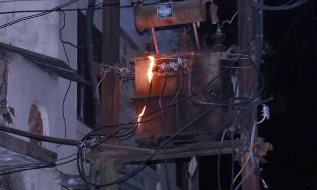 Seven transformers damaged in lightning strike, power supply cut off