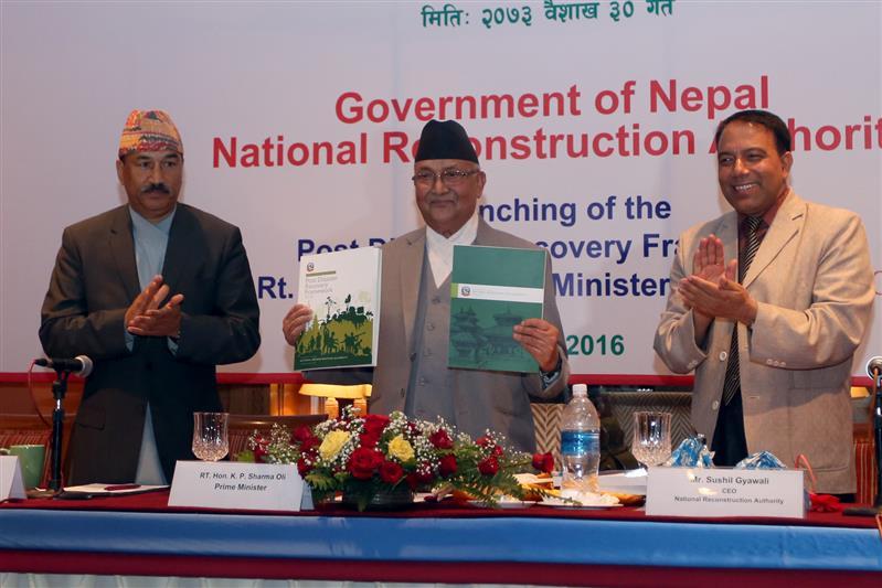PM unveils 5-year reconstruction work plan